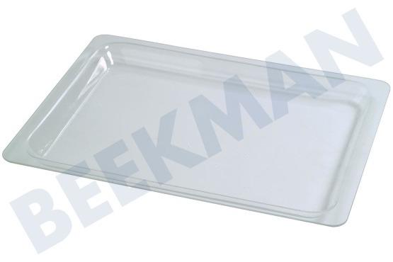 Miele 4317620 bakplaat glazen plaat 45 5x35 3x3 for Glazen plaat