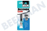 Universeel 1490269 Wasmachine Lijm BISON -SUPER- secondenlijm gel