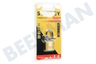 S742-042 Stanley Hangslot Solid Brass 30mm