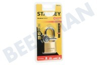 S742-043 Stanley Hangslot Solid Brass 40mm