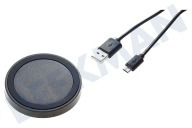 Spez 20091335  Oplader QI Module, Output 1A, Incl. Micro-USB kabel, 100cm QI Universeel