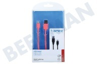 Apple 20091379  USB Kabel Apple Lightning 100cm Roze Apple Lightning connector