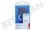 Spez SM2817  Verloopkabel USB C male - HDMI/USBC/USB3.0 female 15cm Universeel USB Type C, Mix van 3 kleuren