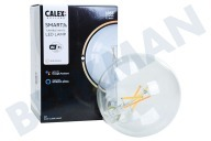 Calex 429036  Smart LED Filament Clear Globelamp E27 Dimbaar 220-240V, 7,5W, 1055lm, 1800-3000K