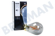 Calex 429194  Smart LED Filament Rustic Smokey-lamp E27 Dimbaar 220-240V, 7W, 400lm, 1800-3000K