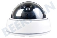 Alecto DC05 DC-05  Camera Dummy Bewakingscamera, Ingebouwd knipperend LED lampje Inclusief stevige muurbeugel