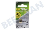 GP 080476AC1  4LR44 High voltage battery 476A - 1 rondcel PX28A Alkaline