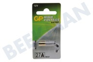 GP 10027AC1  A27 High voltage 27A - 1 rondcel 27A Alkaline