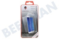 ScreenArmor SA10184  Screen Protector Safety Glass Edge 2 Edge Samsung Galaxy S7 Edge Silver Slim