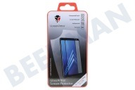 ScreenArmor SA10222  Screen Protector Safety Glass Regular Samsung Galaxy A8 2018 Black