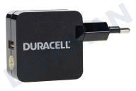 Universeel  DRACUSB2-EU Single USB Lader 5V/2.4A