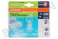 Osram 4008321945136  Halogeenlamp Halopin Eco Superstar G9 20W 230V 2700K 235lm