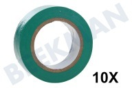 Deltafix 210  Tape isolatieband groen Tape 10mx19mm