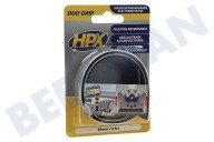 HPX DG2500 Duo Grip Hersluitbare  Klikbevestiging 25mm x 0,5m Duo Grip, 25mm x 0,5 meter