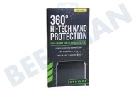 Striker 26915 HTNPROT1001  Screen Protector 360 High Tech Nano Protection Alcohol pad, 360 graden Nano Protection, Microvezel doek