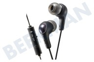 HA-FX7-G-BE Gumy In Ear Hoofdtelefoon Gaming Zwart
