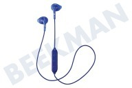 JVC HAEN10BTAE  HA-EN10BT-A-E Gumy Sport Wireless In Ear Hoofdtelefoon Sport