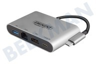 AB7872 USB Type-C 4K Multiport Dock