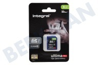 Integral INSDH8G10-80U1  Memory card Class 10 80MB/s SDHC card 8GB