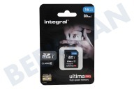 Integral INSDH16G10-80U1  Memory card Class 10 80MB/s SDHC card 16GB
