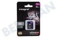 Integral INSDH32G10-80U1  Memory card Class 10 80MB/s SDHC card 32GB