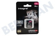 Integral INSDX128G10-80U1  Memory card Class 10 80MB/s SDXC card 128GB