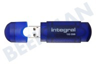 Integral INFD16GBEVOBL  Memory stick Integral 16GB Evo Blue 16GB