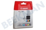 Canon CANBC551MP  Inktcartridge CLI 551 BK/C/M/Y multipack Pixma MX925, MG5450