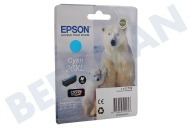 Epson C13T26324010 T2632  Inktcartridge 26XL Cyan Expression Premium XP-600