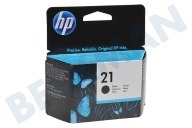 HP Hewlett-Packard HP-C9351AE HP 21  Inktcartridge No. 21 Black Deskjet 3920, 3940