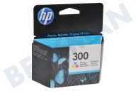 HP Hewlett-Packard 1553582 HP 300 Color  Inktcartridge No. 300 Color Deskjet D2560, F4280