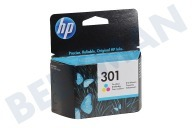 HP Hewlett-Packard 1593425 HP 301 Color  Inktcartridge No. 301 Color Deskjet 1050,2050