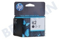HP Hewlett-Packard HP-C2P04AE HP 62 Black  Inktcartridge No. 62 Black geschikt voor o.a. Officejet 5740, Envy 5640, 7640