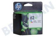 HP Hewlett-Packard HP-C2P07AE Hp 62 XL Color  Inktcartridge No. 62 XL Color geschikt voor o.a. Officejet 5740, Envy 5640, 7640