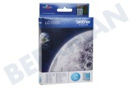 Brother LC1000C  Inktcartridge LC 1000 Cyan DCP130C, DCP330C