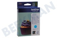 Brother LC123C  Inktcartridge LC 123 Cyan DCPJ132W, DCPJ152W, MFCJ245