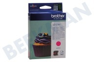 Brother LC123M  Inktcartridge LC 123 Magenta DCPJ132W, DCPJ152W, MFCJ245