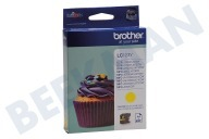 Brother LC123Y  Inktcartridge LC 123 Yellow DCPJ132W, DCPJ152W, MFCJ245