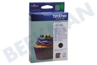 Brother BROI123BK  Inktcartridge LC 123 Black DCPJ132W, DCPJ152W, MFCJ245