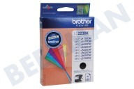 Brother BROI223BK LC-223BK  Inktcartridge LC-223 Black DCP-J4120DW, MFC-J4420DW, MFC-J4620DW