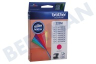 Brother LC223M LC-223M  Inktcartridge LC-223 Magenta DCP-J4120DW, MFC-J4420DW, MFC-J4620DW