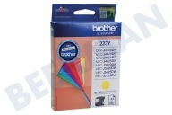 Brother BROI223Y LC-223Y  Inktcartridge LC-223 Yellow DCP-J4120DW, MFC-J4420DW, MFC-J4620DW