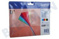 Brother LC223VALBP LC-223 Multipack  Inktcartridge LC-223 Multipack BK/C/M/Y DCP-J4120DW, MFC-J4420DW, MFC-J4620DW
