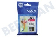 Brother 2920053 LC-3213M  Inktcartridge LC3213 Magenta DCP-J772DW, DCP-J774DW, MFC-J890DW, MFC-J895DW