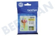 Brother 2920054 LC-3213Y  Inktcartridge LC3213 Yellow DCP-J772DW, DCP-J774DW, MFC-J890DW, MFC-J895DW