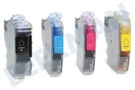 Brother LC3213VP LC-3213 Valuepack  Inktcartridge LC-3213 Multipack BK/C/M/Y DCP-J772DW, DCP-J774DW, MFC-J890DW, MFC-J895DW