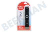 One For All URC7125  URC 7125 One for all Evolve 2 Universele afstandsbediening voor Smart TV