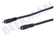 Digitale Coax Kabel Tulp RCA Male - Male, 1.2 Meter