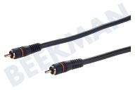 Digitale Coax Kabel Tulp RCA Male - Male, 2.5 Meter