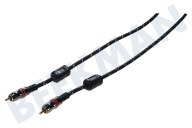 Digitale Coax Kabel Tulp RCA Male - Male, 3.0 Meter
